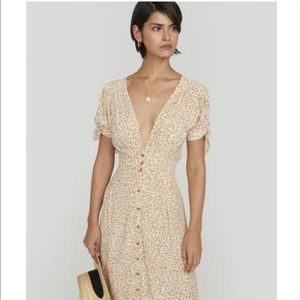 BNWT Faithfull Billie Midi Dress